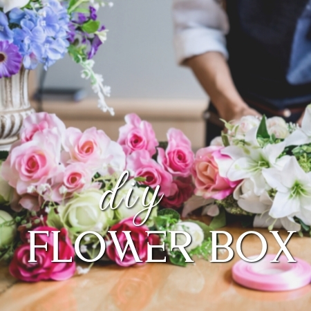 Diy Fresh Flower Box Weekly Fun And Surprise Fresh Flower Bouquets Delivery My Bloom House Online Florist Singapore